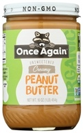 Once Again - Organic Peanut Butter Creamy - 16 oz. - $7.75