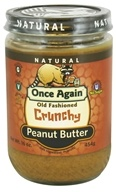 Once Again - Natural Old Fashioned Peanut Butter Crunchy - 16 oz. (044082031118)
