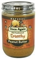 Once Again - Natural Old Fashioned Peanut Butter Crunchy - 16 oz. - $5.95
