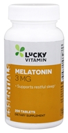 LuckyVitamin - Melatonin 3 mg. - 200 Tablets by LuckyVitamin