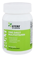 LuckyVitamin - One Daily Multivitamin - 130 Tablets OVERSTOCKED