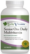 LuckyVitamin - One Daily Senior Multivitamin - 125 Tablets OVERSTOCKED