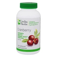 LuckyHerbs - Cranberry by LuckyVitamin 850 mg. - 100 캡슐