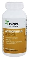 LuckyVitamin - Acidophilus Probiotic Complex 300 mg. - 100 Capsules by LuckyVitamin