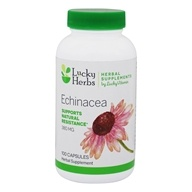 LuckyVitamin - Echinacea Herb Echinacea Purpurea 380 mg. - 100 Capsules, from category: Herbs