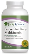 Image of LuckyVitamin - One Daily Senior Multivitamin - 225 Tablets OVERSTOCKED