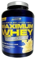 Image of MHP - Maximum Whey Ultra-Premium Whey Protein Complex Vanilla Milkshake - 5 lbs. CLEARANCED PRICED