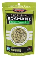 Image of SeaPoint Farms - Edamame Dry Roasted Spicy Wasabi - 3.5 oz.