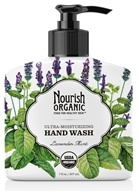 Image of Nourish - Organic Hand Wash Lavender Mint - 7 oz.