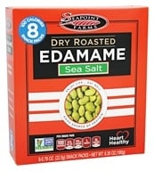 SeaPoint Farms - Edamame Dry Roasted Snack Packs Sea Salt - 6.35 oz.