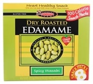 Image of SeaPoint Farms - Edamame Dry Roasted Snack Packs Spicy Wasabi - 6.35 oz.