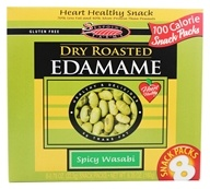SeaPoint Farms - Edamame Dry Roasted Snack Packs Spicy Wasabi - 6.35 oz. by SeaPoint Farms