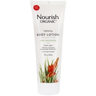 Nourish - Organic Body Lotion Pure Unscented - 8 oz. LUCKY PRICE