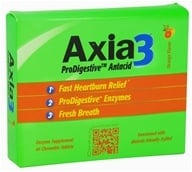 Axia3 - ProDigestive Antacid Fast Heartburn Relief Orange Flavor - 45 Chewable Tablets, from category: Nutritional Supplements
