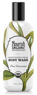 Nourish - Organic Body Wash Pure Unscented - 10 oz.