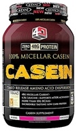 4 Dimension Nutrition - 100% Micellar Casein Strawberry - 2 lbs. CLEARANCED PRICED (856036003207)