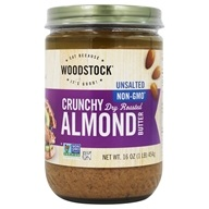Woodstock Farms - All-Natural Almond Butter Crunchy Unsalted - 16 oz. - $12.54