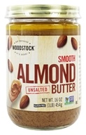 Woodstock Farms - All-Natural Almond Butter Smooth Unsalted - 16 oz. (026938736194)