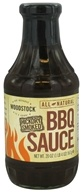 Image of Woodstock Farms - All-Natural Hickory Smoked BBQ Sauce - 20 oz.
