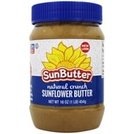 Image of Sunbutter - Sunflower Seed Spread Natural Crunch - 16 oz.