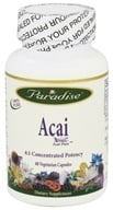 Paradise Herbs - Acai 400 mg. - 60 Vegetarian Capsules CLEARANCED PRICED - $6.67
