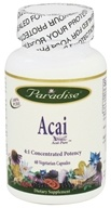 Paradise Herbs - Acai 400 mg. - 60 Vegetarian Capsules CLEARANCED PRICED by Paradise Herbs