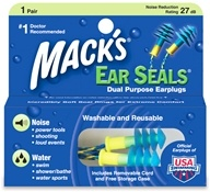 Mack's - Ear Seals Ear Plugs - 1 Pair by Mack's