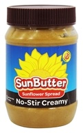 Image of Sunbutter - Sunflower Seed Spread Natural No-Stir Creamy - 16 oz.