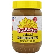 Image of Sunbutter - Sunflower Seed Spread Natural - 16 oz.