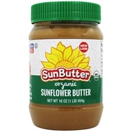 Image of Sunbutter - Sunflower Seed Spread Organic - 16 oz.