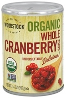Image of Woodstock Farms - Organic Whole Cranberry Sauce - 14 oz.