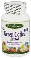 Paradise Herbs - Green Coffee with Svetol - 60 Vegetarian Capsules, from category: Diet & Weight Loss