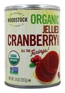 Image of Woodstock Farms - Organic Jellied Cranberry Sauce - 14 oz.