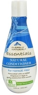 Clearly Natural - Conditioner Natural For Normal Hair - 12 oz. CLEARANCED PRICED (087052723996)