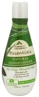 Clearly Natural - Conditioner Natural For Oily, Tangled Hair - 12 oz. CLEARANCED PRICED