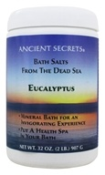 Ancient Secrets - Aromatherapy Dead Sea Mineral Bath Eucalyptus - 2 lbs. by Ancient Secrets