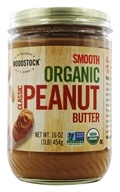 Woodstock Farms - Organic Classic Peanut Butter Smooth - 16 oz. by Woodstock Farms