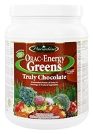 Paradise Herbs - Orac-Energy Greens Truly Chocolate - 12.8 oz. by Paradise Herbs
