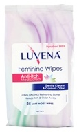 Luvena Prebiotic - Feminine Wipes Anti-Itch Medicated - 25 Wipe(s)