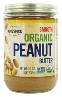 Image of Woodstock Farms - Organic Peanut Butter Smooth - 16 oz.