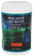 Ancient Secrets - Aromatherapy Dead Sea Mineral Bath Evergreen Forest - 2 lbs.