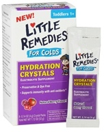 Image of Little Remedies - Hydration Crystals For Colds Berry Flavor - 8 x 0.14 oz (4g) Packets - CLEARANCED PRICED