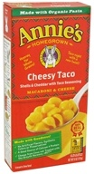 Image of Annie's Homegrown - Macaroni & Cheese Cheesy Taco - 6 oz.