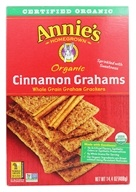 Annie's Homegrown - Organic Cinnamon Grahams - 14.4 oz.