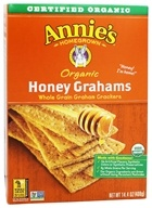 Image of Annie's Homegrown - Organic Honey Grahams - 14.4 oz.
