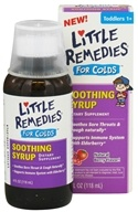 Little Remedies - Soothing Syrup For Colds Berry Flavor - 4 oz. CLEARANCED PRICED (756184102558)