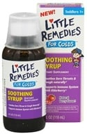 Little Remedies - Soothing Syrup For Colds Berry Flavor - 4 oz. CLEARANCED PRICED