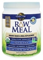 RAW Meal Organic Shake & Meal Replacement Vanilla - 16.7 oz.