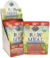 Garden of Life - Raw Meal Beyond Organic Snack and Meal Replacement Vanilla Spiced Chai - 10 x 2.8 oz. Packets by Garden of Life