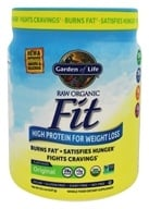 Garden of Life - Raw Fit High Protein for Weight Loss - 16 oz. by Garden of Life